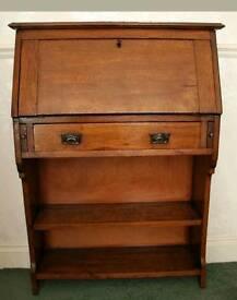 Beautiful oak bureau