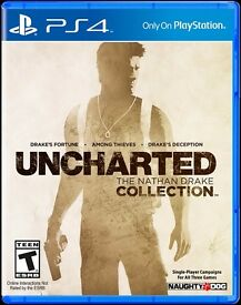 UNCHARTED The Nathan Drake Collection (sealed)