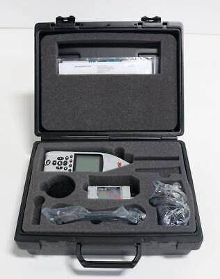 3m Tsi Sound Examiner Se-402 Ac 300 Sound Level Meter Wacoustic Calibrator