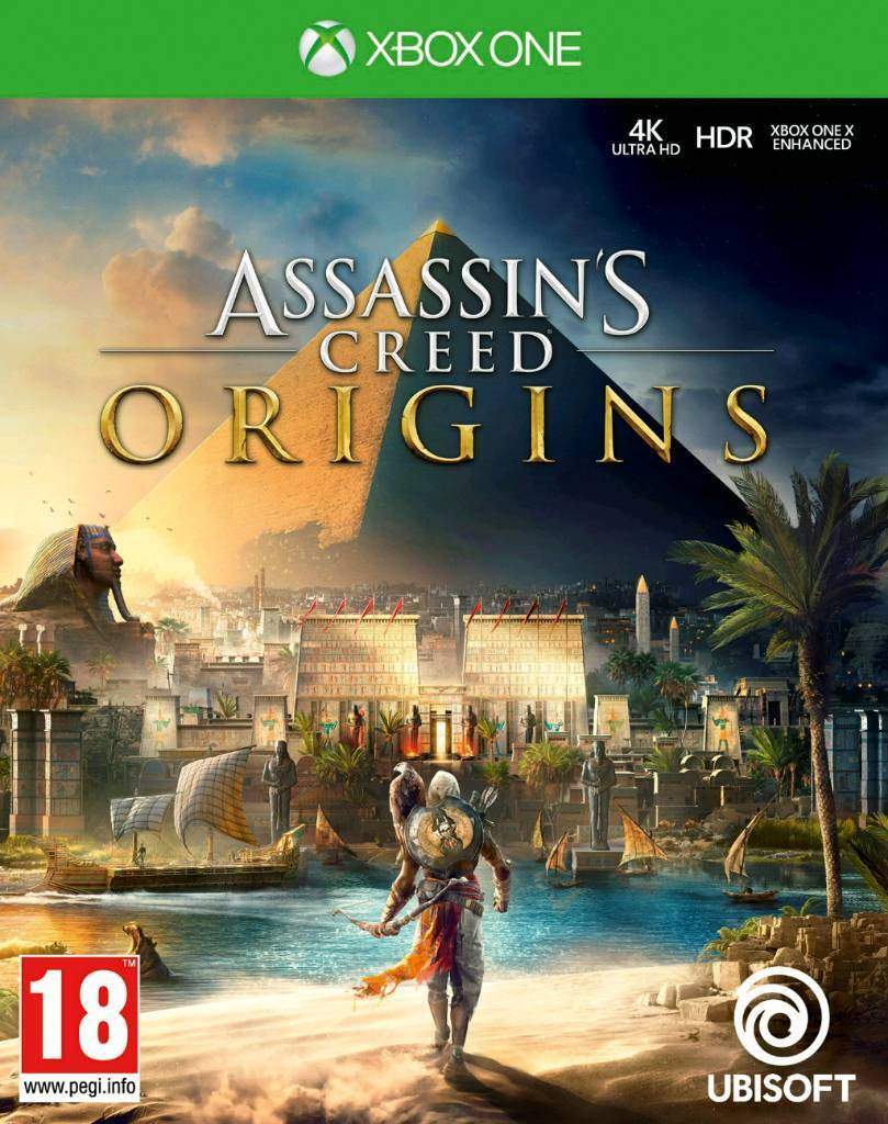Xbox one ASSASSINS CREED ORIGINS Brand New SEALED