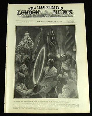 The Illustrated London News Magazine 10 February 1912 Vintage World News Events