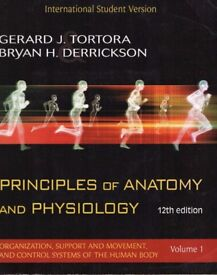 Principles of Anatomy and Physiology 12th Edition Volume 1 & Volume 2 by Tortora & Derrickson