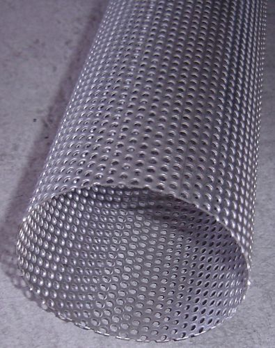 Exhaust Perforated Stainless Steel Tube 3 5 Quot X 500mm Ebay