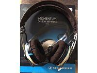 Sennheiser 'Mometum' wireless on ear phones.