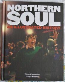 Northern Soul An Illustrated History Hardback Book (NEW UNUSED)
