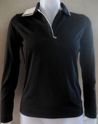 Nike Golf Womens Shirt Fit Dry Xs 0 2 Black $70