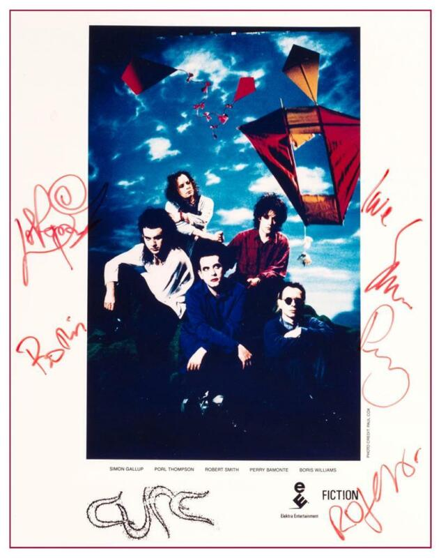 the Cure - POSTER - WISH  - Signed Print - AMAZING Wall Art