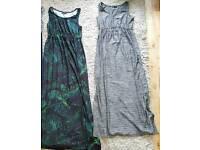 NEXT MATERNITY MAXI DRESSES SIZE 10