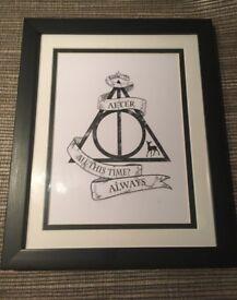 New Harry Potter framed print