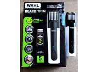 WAHL lI BEARD TRIMMER with intergrated comb - RRP £44.99