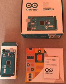 Genuine Arduino Mega 2560 with Box and booklets