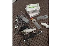 Nintendo Wii With 4 Games & Balance Board - Delivery Available