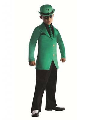 Batman and Robin's Great Foe THE RIDDLER Green Child's Costume (Robin And Batman Costumes)