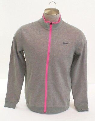 Nike Golf Tour Performance Heather Gray & Pink Zip Front Jacket Men's NWT - Performance Tour Jacket