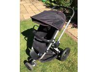 Quinny Buzz Rocking Black Pushchair/Stroller/Pram