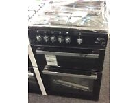 Brand NEW Flavel 60cm GAS Cooker in BLACK+CHROME