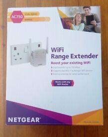 Netgear Wifi Range Extender AC750