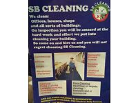 SB CLEANING SERVICES.