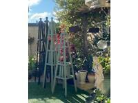 Wooden Garden Obelisk Trellis ( Various sizes)