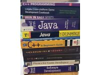 A collection of IT (computer) books