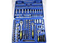 "172 pc Socket Set Case Ratchet Hex Torx Professional 1/2"" 3/8"" 1/4"" Garage LARGE SET"