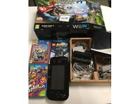 Wii U 32GB Premium console and games