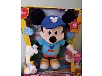 Micky mouse responds to voice walks talks and jumps brand new £8