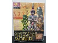 Compton's Atlas of The Ancient World - PC CD ROM New in Box