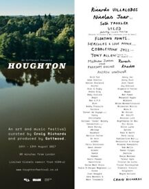 Houghton Festival 2018 Ticket (ID & booking fee Included)