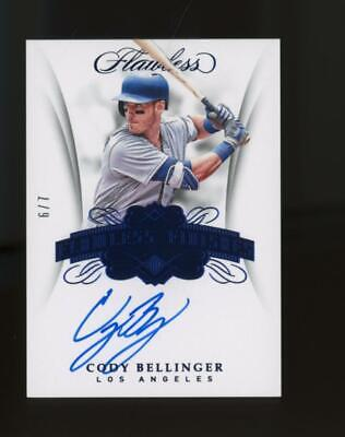 2018 Panini Flawless Cody Bellinger Auto 6/7