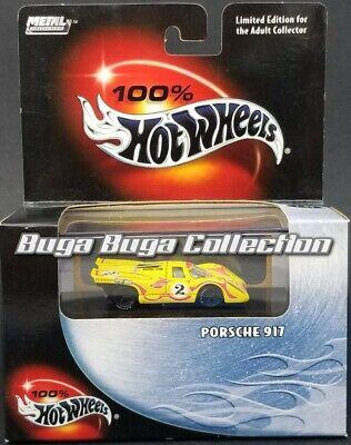 Hot Wheels 100% Black Box Yellow Porsche 917 Real Riders