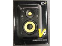 NEW: KRK V4 S4 Studio Monitor Speakers