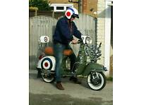 Vespa badged LML 125