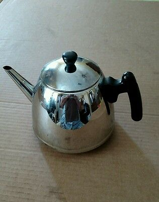 Bredemeijer Tea Pot Hilversum Stainless Steel Holland 4cup
