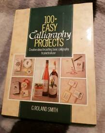 100+ Easy Calligraphy Projects book