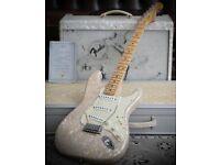1996 Fender Custom Shop Moto Stratocaster & Custom Shop Blues Deluxe Amp Set