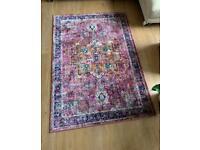 La Roudette Persian Style faded rug