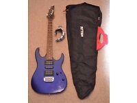 Ibanez GRX 70 and gig bag