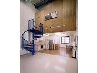 Large loft style Live /Work unit in London Fields, Hackney E8