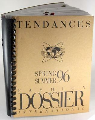 1996 Tendances Spring Summer Fashion Forecast Fashion Dossier International