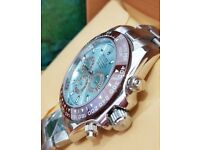BRAND NEW ROLEX DAYTONA ICE BLUE FACE WATCH