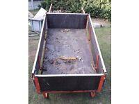 Saxon Industries '8H' 70kg Handcart - Ideal for Garden or Allotment