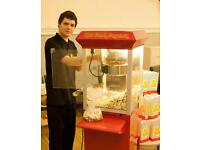 Fun Foods, Popcorn, Candyfloss, Hot Dog Steamer, Chocolate Fountains