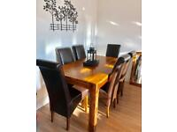 Dining Table, Sideboard, TV Stand in Sheesham Wood | RRP £2,100