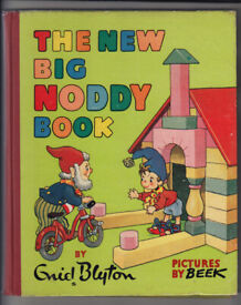 The New Big Noddy Book Enid Blyton Pictures By Beek First Edition 1953 Free UK p+p!