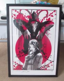 **SIGNED & FRAMED LIMITED EDITION** Street Art Print by renowned UK artist Mitchy Bwoy