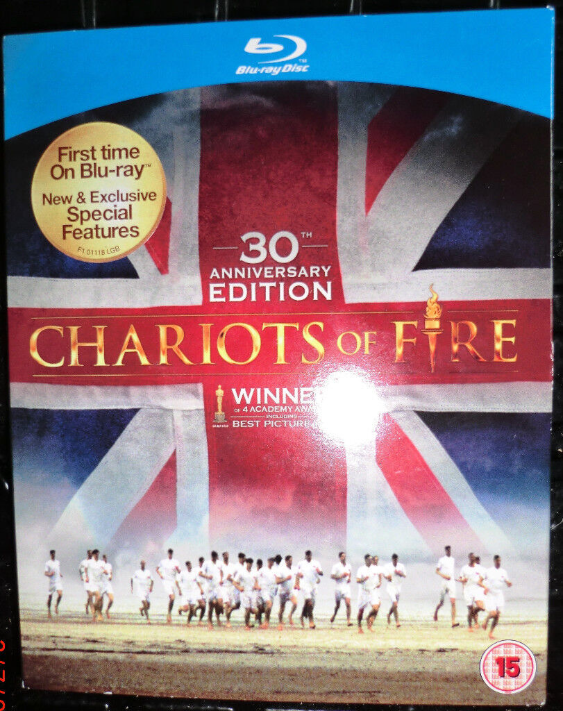 Nigel Havers signed copy of Chariots of Fire BluRay Disc
