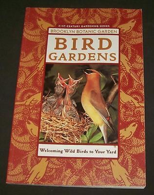 Bird Gardens Brooklyn Botanic Garden Design 156 Cedar Waxwing Interlaced Biology