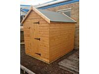SPECIAL OFFER - 8 X 6 SHED