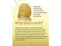 Collagen gold madks